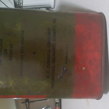 R.C CHEMICAL.COMPANY MADE IN PENNSYLVANOA - Petroliana