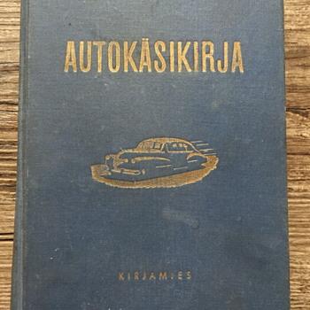 Autokaskirja Kirjamies car book.