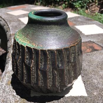 Glazed pottery vasec  - Pottery
