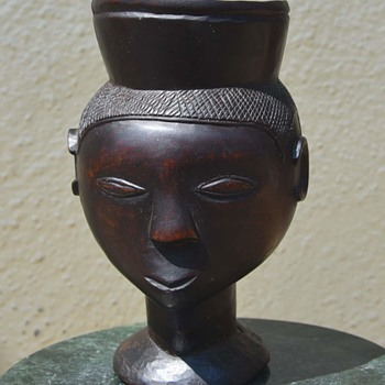 Kuba Palm Wine Cup from - Folk Art