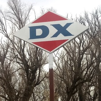 DX Porcelain Sign - Signs