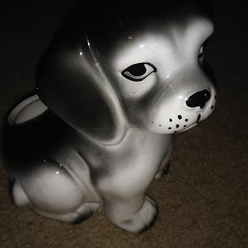 Dog flower pot  - Animals