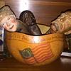 America The Beautiful Art Gourd