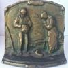 Bronze-Over-Metal Bookend