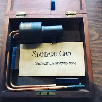 Vintage Ohm reader  - Tools and Hardware