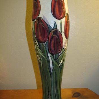 Signed Pottery Vase - Pottery