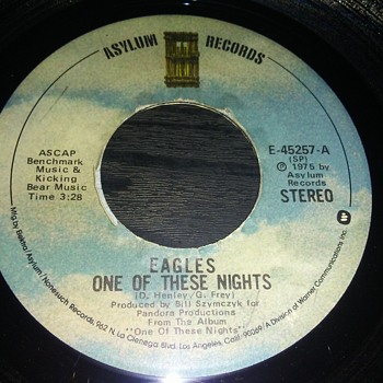 The Eagles....On 45 RPM Vinyl - Records