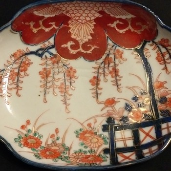 oriental shallow dish - Asian