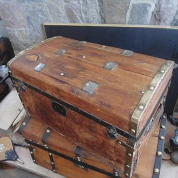 1875 Antique Trunk - Furniture
