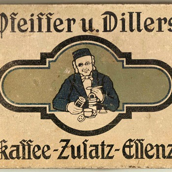 Pfeiffer und Dillers Kaffee Tin - Germany - Advertising