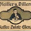 Pfeiffer und Dillers Kaffee Tin - Germany