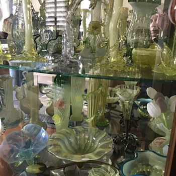 More glass? Why not! And some Bowie memorabilia too... - Art Glass