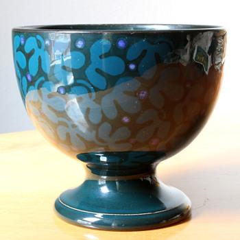 Wächtersbacher Art Nouveau  bowl by Christian Neureuther - Art Nouveau