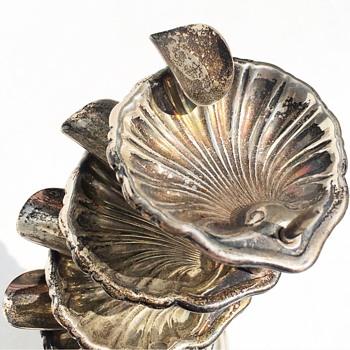 Sterling Silver Mexico Ash Tray - Silver