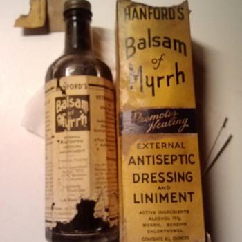 Hanford's Balsam of Myrrh