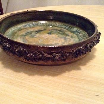 Glit lava iceland bowl - Pottery