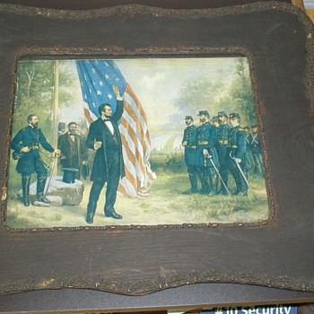 Lincoln Addressing Soldiers - Posters and Prints