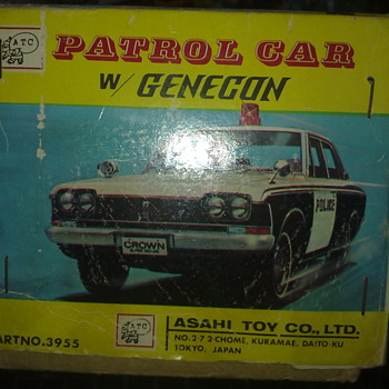 Patrol car w/genecon from ATC by Asahi Toy Com