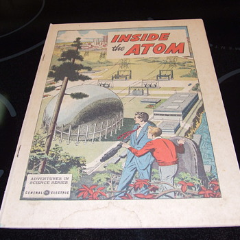 Nuclear comic from the 50's - Comic Books