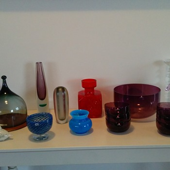 Hadeland,Iittala,Boda etc finds. - Art Glass