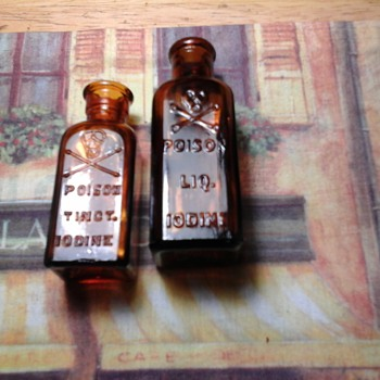 Iodine bottle  - Bottles