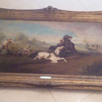 Freidrich Gauermann painting from 1838  - Fine Art
