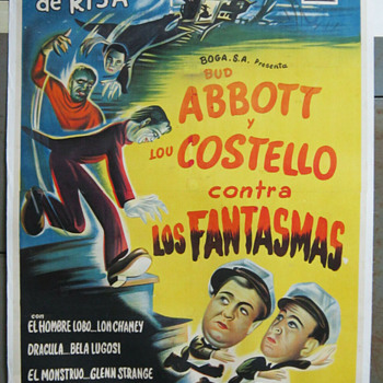 Abbott and Costello Meet Frankenstein - Movies