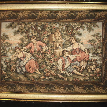 "Old Framed Tapisserie""1920-30"" - Fine Art"