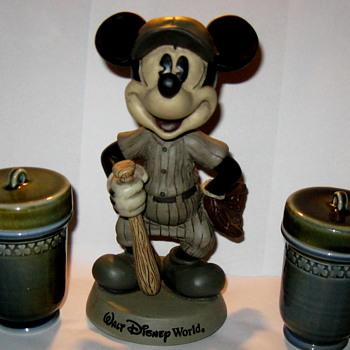 Irish Pottery..& Micky from China  - Advertising