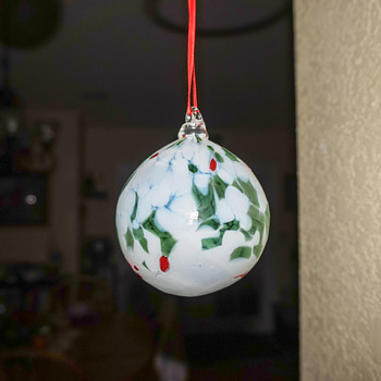 Stained Glass Ornaments??? - Christmas