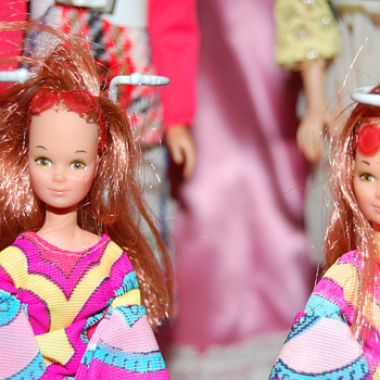 Vintage Mattel Dolls- Barbies, Dawns, Lilacs