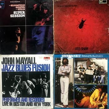 Blues Vinyl (1960's/70's)-4. - Records