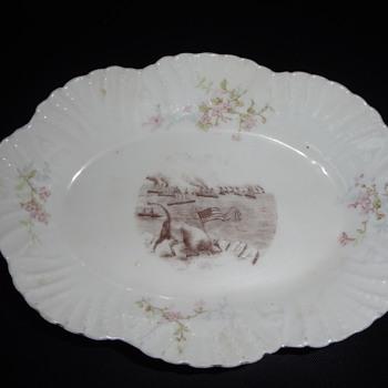 Unusual China Dish - China and Dinnerware