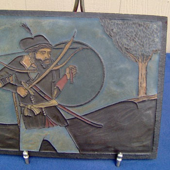 large aet tile - Pottery