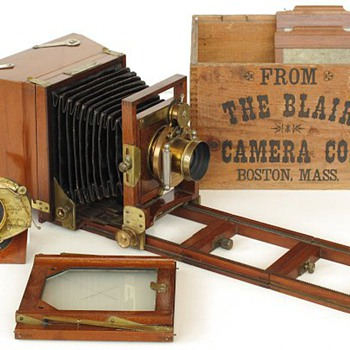 Blair Reversible Back Camera with Patent Extension Back, 1880s – 90s - Cameras