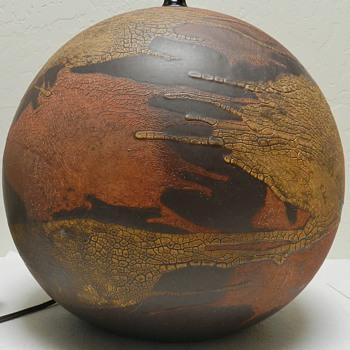 Royal Haeger Orange Peel Lamp - Mid Century Modern - Lamps