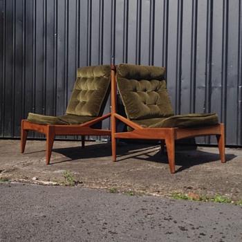 Danish Lounge chairs   need help identifying