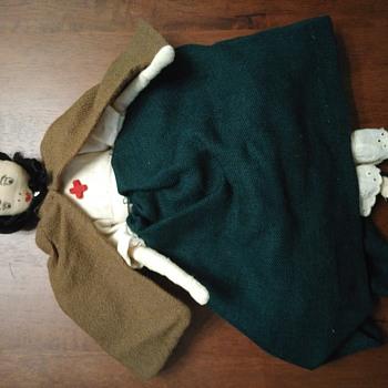 Vintage Looking Cloth Doll