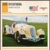 Vintage Car Card - Duesenberg Mormon Meteor