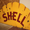 Top Half of Shell clamshell sign, Sinclair H-C