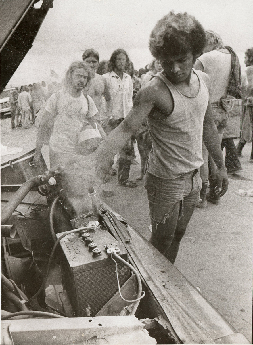 Original Photos From Watkins Glen Rock Concert July 1973