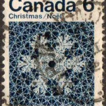 "1971 - Canada ""Christmas"" Postage Stamps - Stamps"