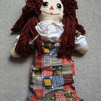 Childhood Raggedy Ann Found