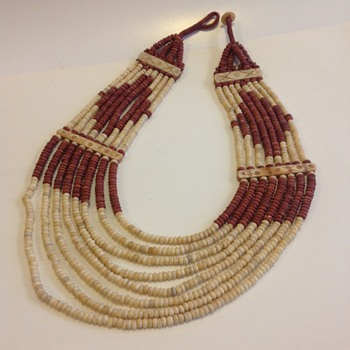 Multi Strand Vintage Navajo? Necklace - Costume Jewelry