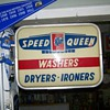 Vintage Speed Queen Sign