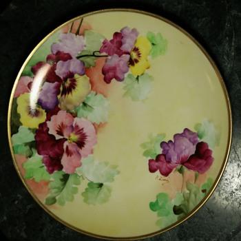 Handpainted Richard Ginori Plate - Italy - Pottery