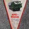 Germany during the cold war part 11 - KFZ Dienst pennant