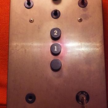 brass elevator control panel - Electronics