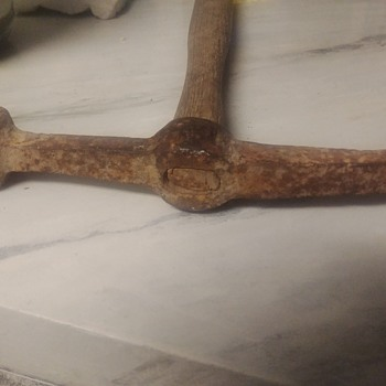 What is this? A pick axe? A hammer? Masonry tool?  - Tools and Hardware