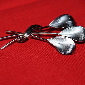 CR CO Sterling Vintage Reis Pin - Fine Jewelry